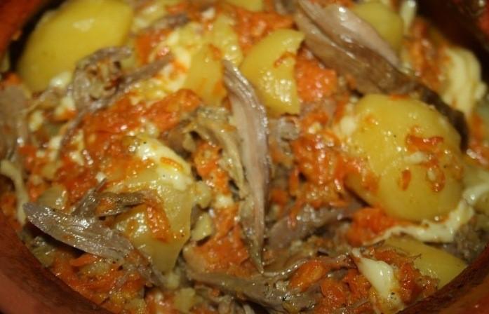 Вкусная и полезная картошка в горшочке