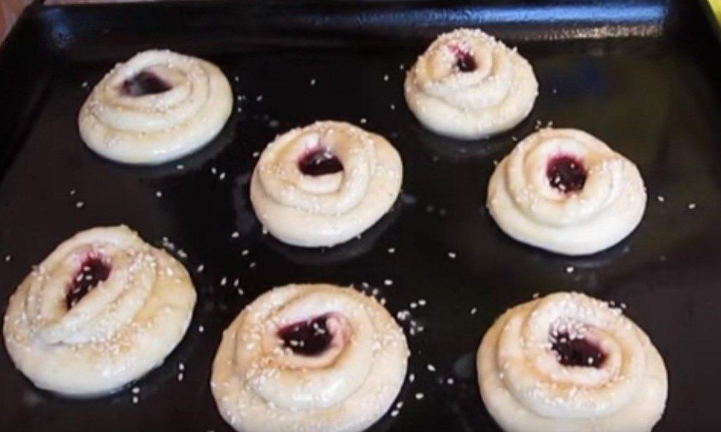 Рецепт новогодних булочек