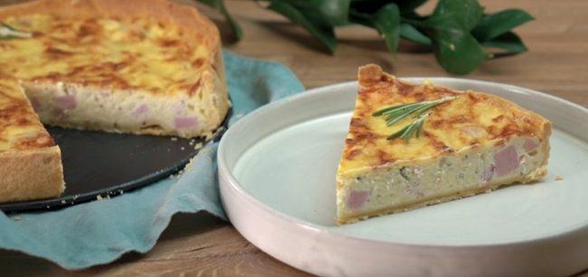 Рецепт пирога с ветчиной Вы наверняка запомните
