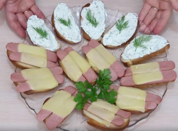 С приготовлением бутербродов справится даже школьник