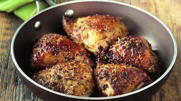 маринад для курицы на сковороде