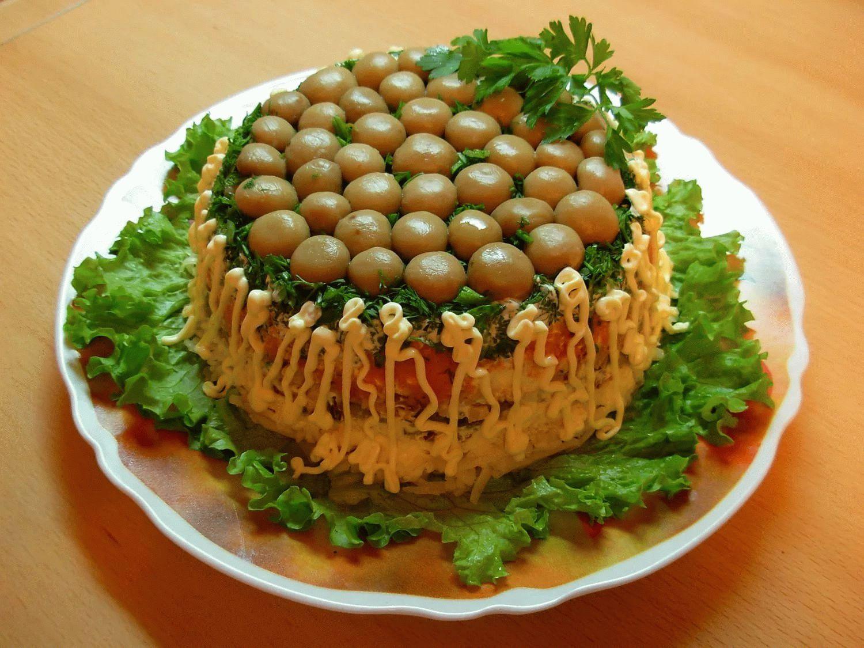 определили салат лесная полянка рецепт с фото законный