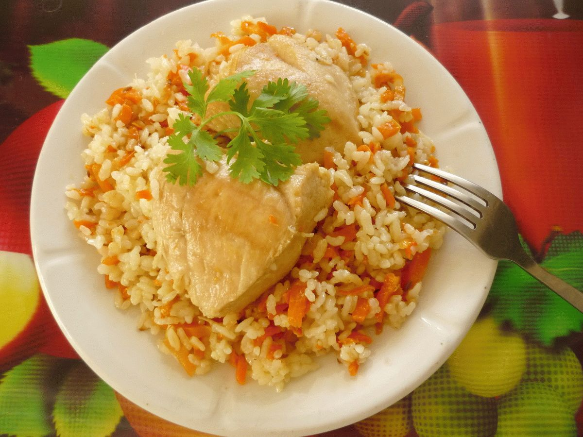 Плов из куриного филе рецепт с фото предложением лотов